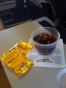 Food and drink service on today's airlines