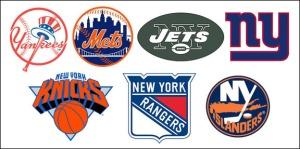 New Yorks Sports logos