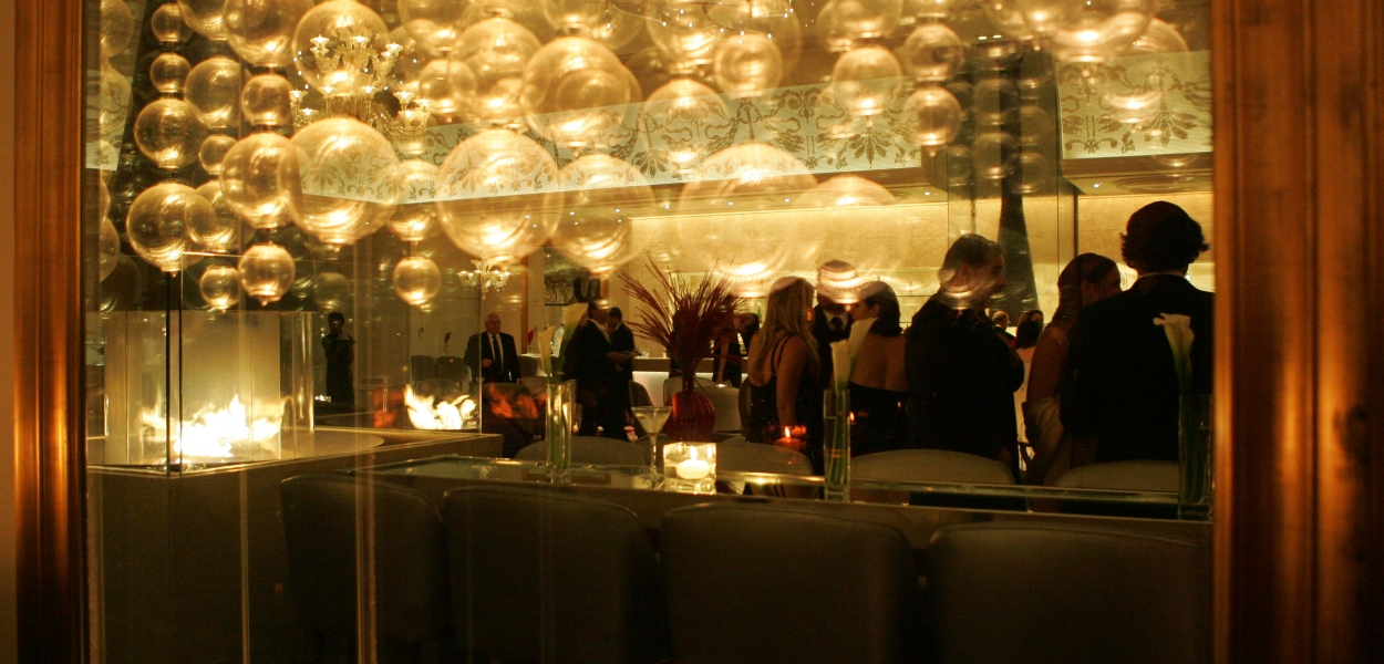 Elegant cocktail party