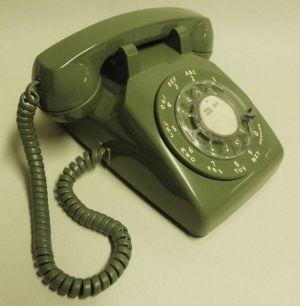 Rotary phone circa 1972