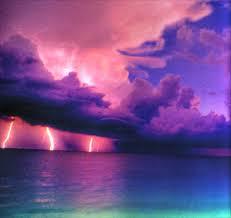 Thunder and lightening's majesty