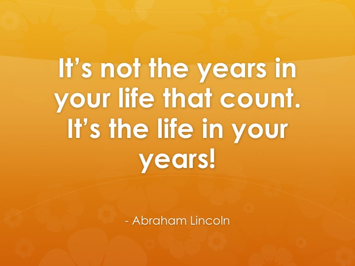 Abraham Lincoln's life perpesctive