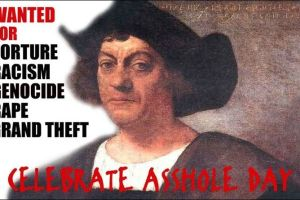 Columbus was not all morally righteous as a person