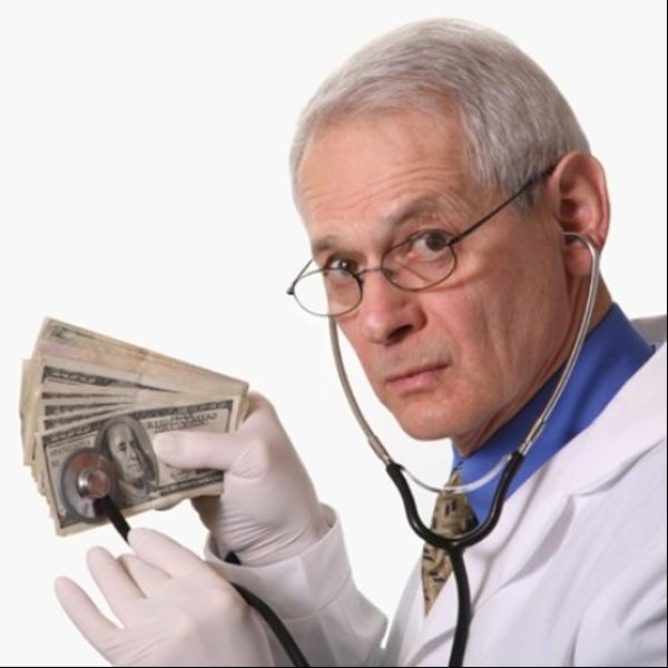The 'best' doctor in the world - if money matters only