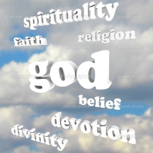 God Spirituality Words Religion Faith Divinity Devotion