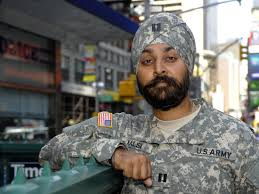 American Muslim protecting our country