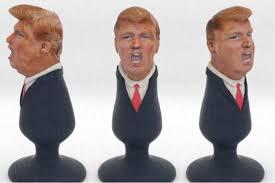 Trump political anal plug